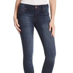 1822 Denim Four-Way Stretch Mid Rise Skinny Jeans